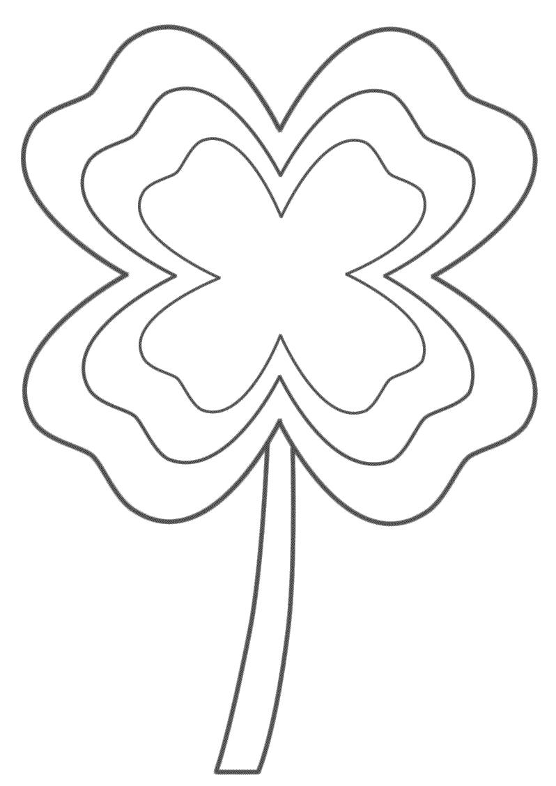Shamrock coloring page - St Patrick\'s Day | St. Patrick\'s Day ...