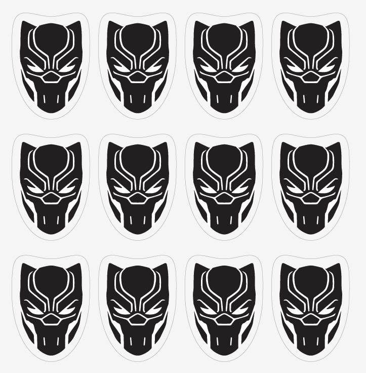 Black Panther Logo Avengers Infinity War Black Panther Etsy Black Panther Party Black Panther Panther Logo