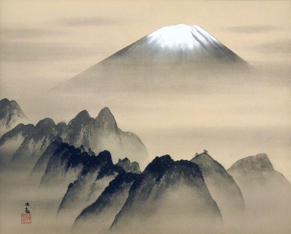 Spirit of Japan 2006, lithograph by Taikan YOKOYAMA