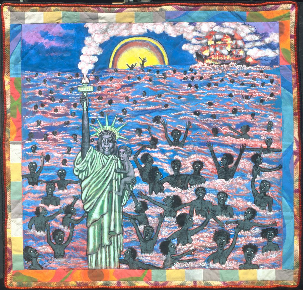 We Came To America Byy Faith Ringgold