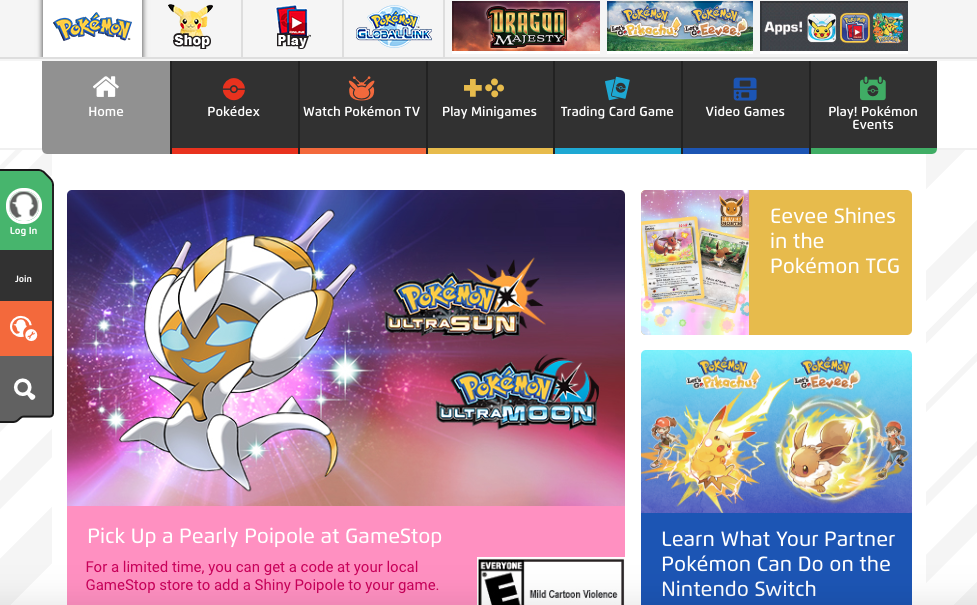 Logo Design Pokemon Events Pokemon Website Pokemon Tv