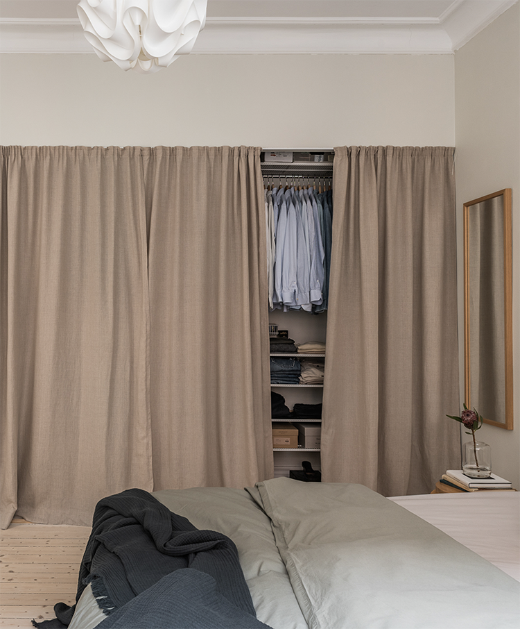 5 Things That Curtains Can Hide Inside A Bedroom Apart From The Windows Home Curtains Home Curtains To Cover Closet