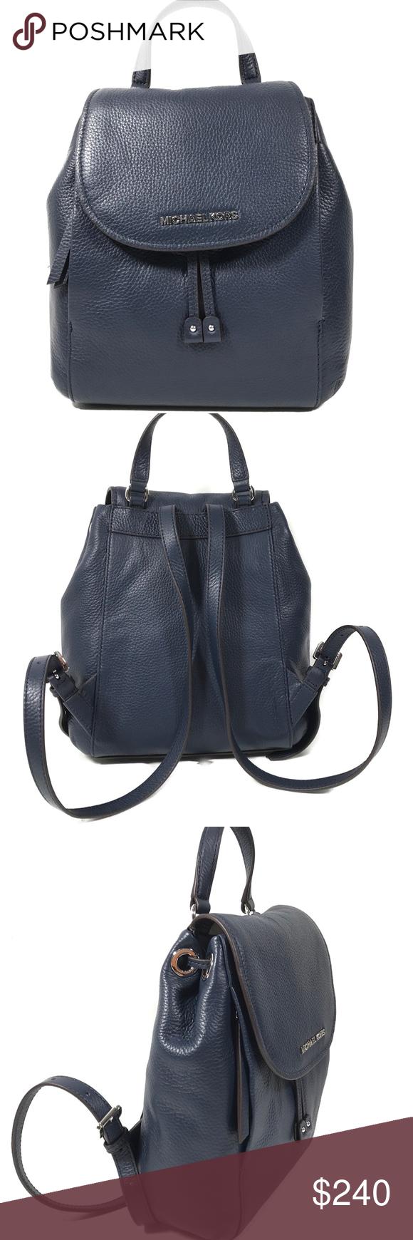 362e18a2c4bb MICHAEL KORS HAYES Medium Leather Backpack MICHAEL KORS Riley Medium Leather  Backpack Brand: Michael Kors