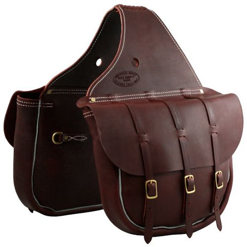 Trailmax Canvas Leather Horse Western Saddle Bags