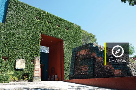 Entrada al Museo de Sitio de Toniná