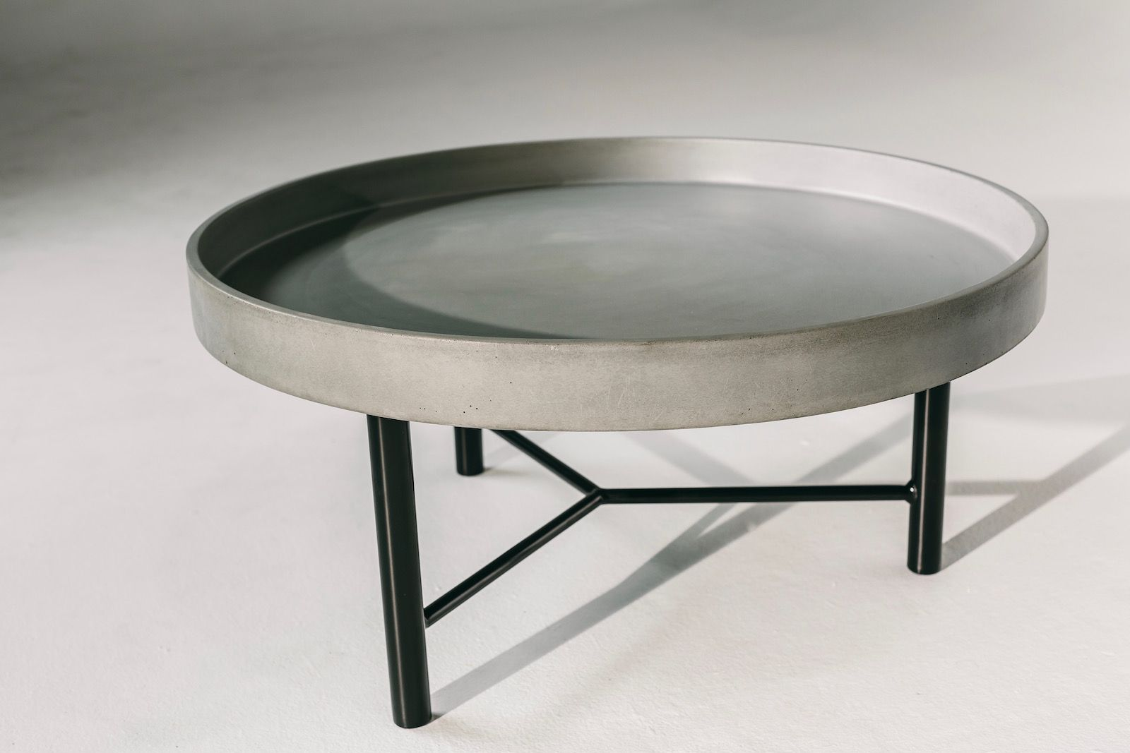 Round Concrete Coffee Table Concrete Coffee Table Coffee Table