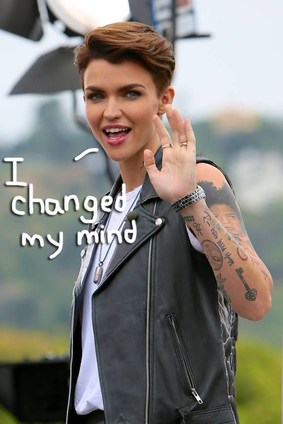 Ruby Rose Chose Not To Undergo Surgery To Transition From -8256