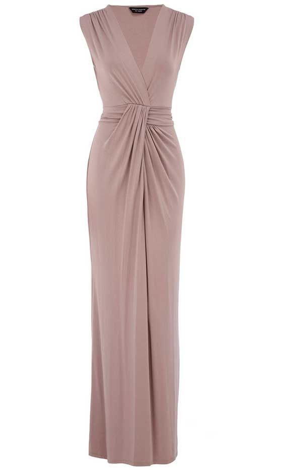 aa085b1a7cb Dorothy Perkin Staupe Knot Maxi Dress Perfect for a wedding guest ...