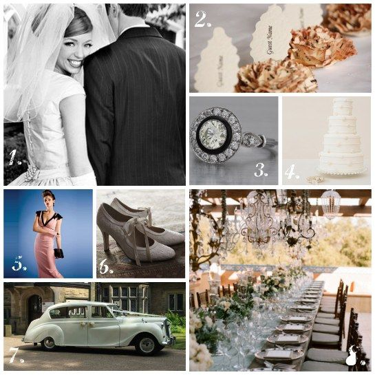 1940 Wedding Theme Ideas | Vintage Wedding | One Stylish Bride - Ultimate Wedding Ideas