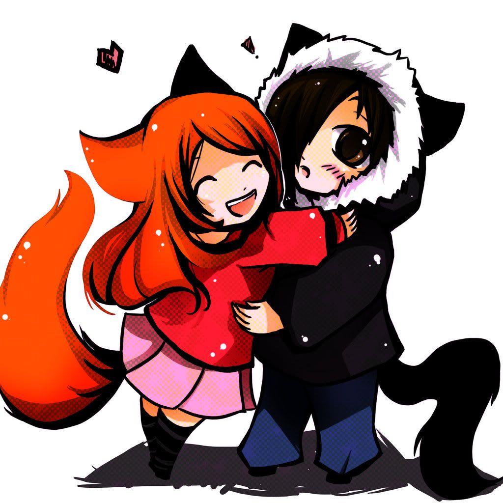 fox and wolf Google Search Awesome anime, Anime, Art