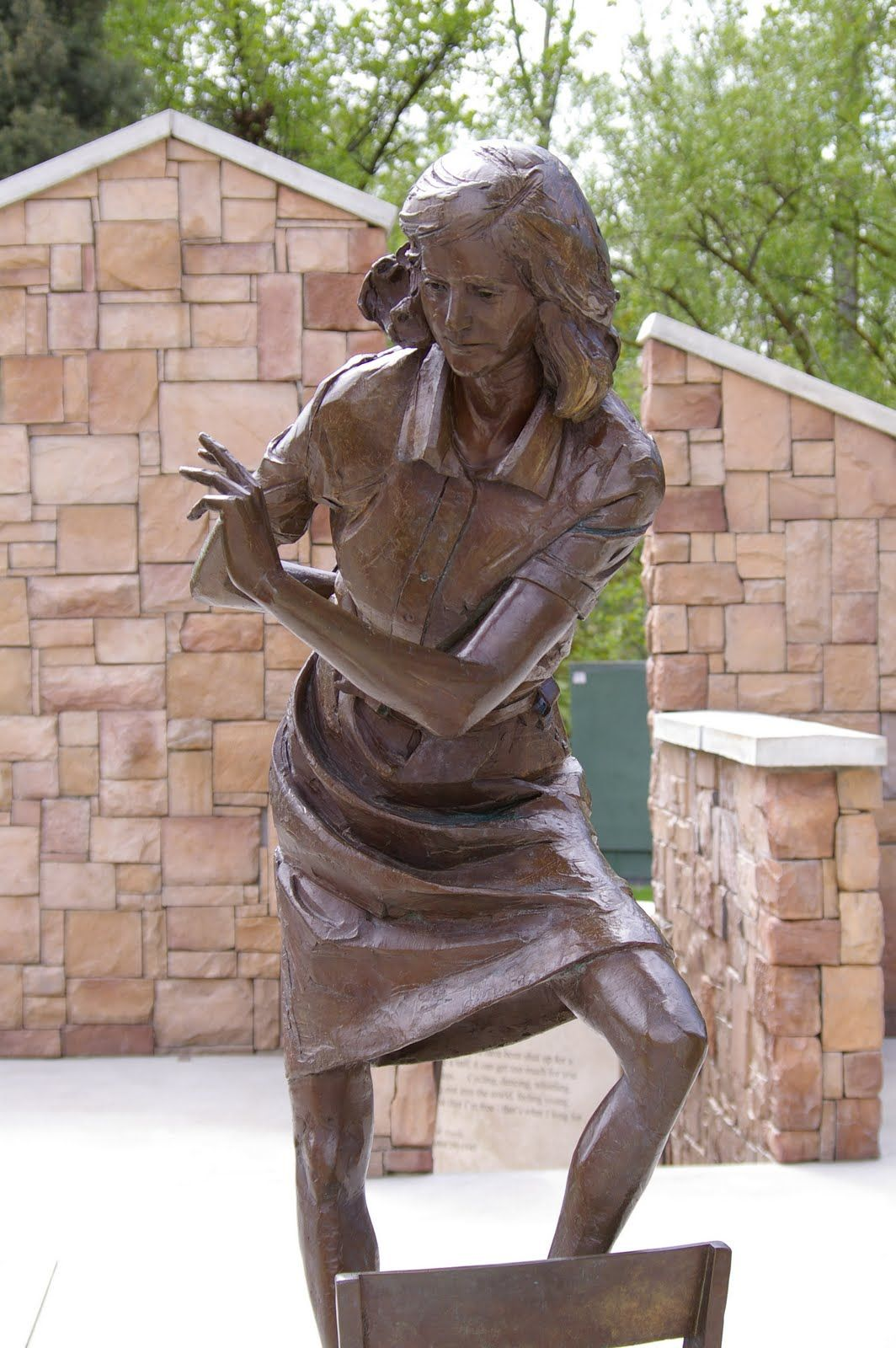 Image result for Anne Frank art sculpture