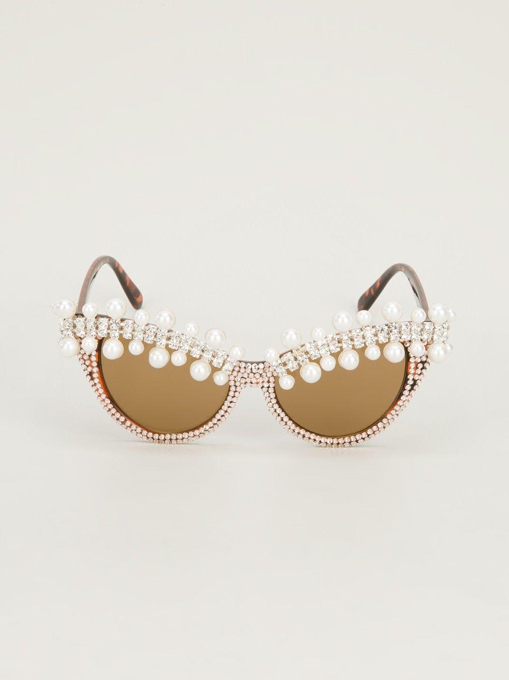 A-morir Embellished Sunglasses Oculos De Sol, Moda Para Festivais, Festival  Diy, 6cc9a252dc