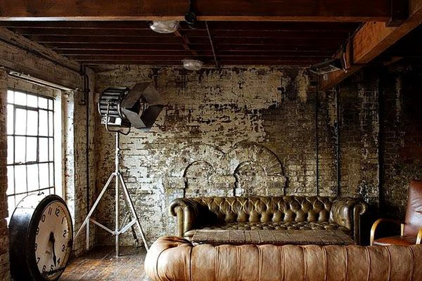 Dirty chic Interiors Just when past meets present, Imperfection