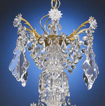 Antique Chandeliers, Baccarat Crystal, 24-Light Baccarat Chandelier ~ M.S. Rau Antiques
