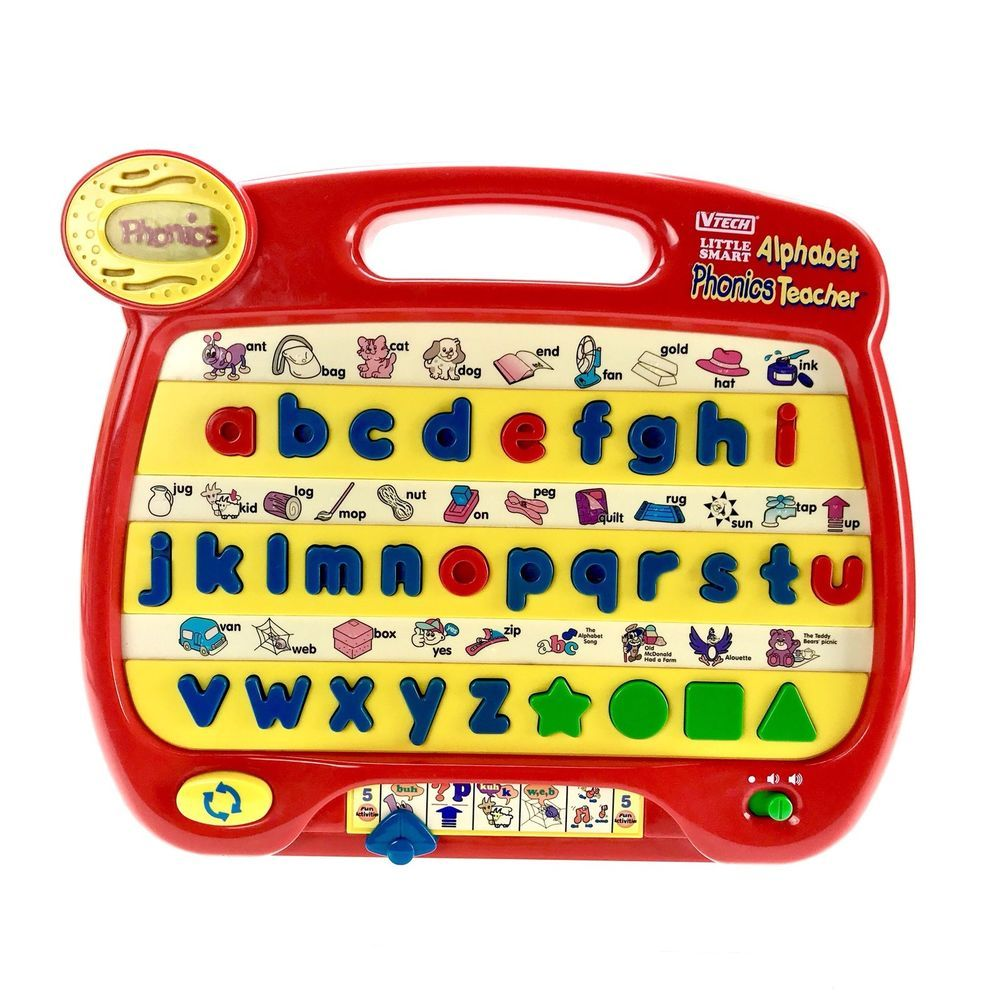 Vtech Little Smart Alphabet Phonics Teacher 100% Working ...