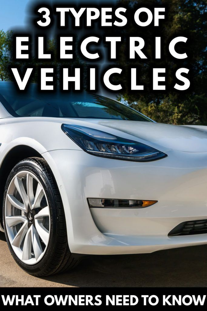 3 Types Of Electric Vehicles (What Every Driver Needs To Know) - Article by Vehicle HQ #VEHQ.com #VEHQ #EV #ElectricVehicles #automotive
