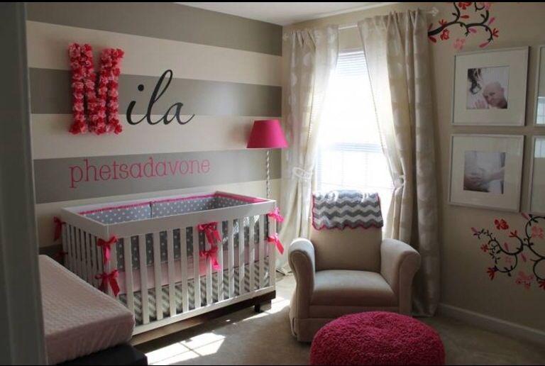 Baby Girl Room Design Mommy  Baby Tips Pinterest Chambres