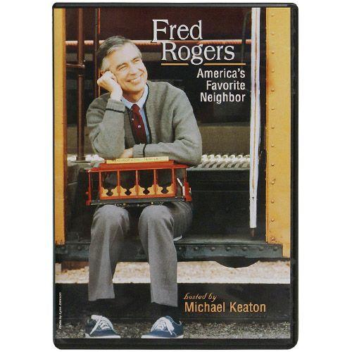 America S Favorite Neighbor Dvd 19 95 Fred Rogers Michael Keaton America
