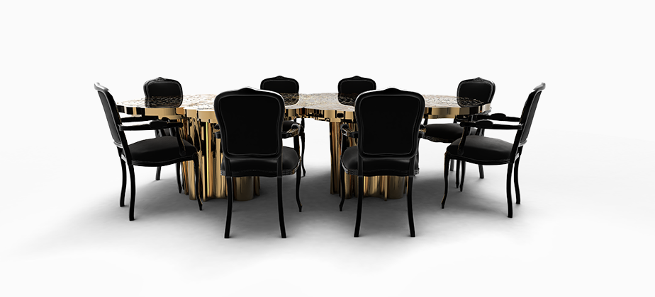 Fortuna Dining Table Exclusive Furniture | Desks, Modern Interiors And  Modern