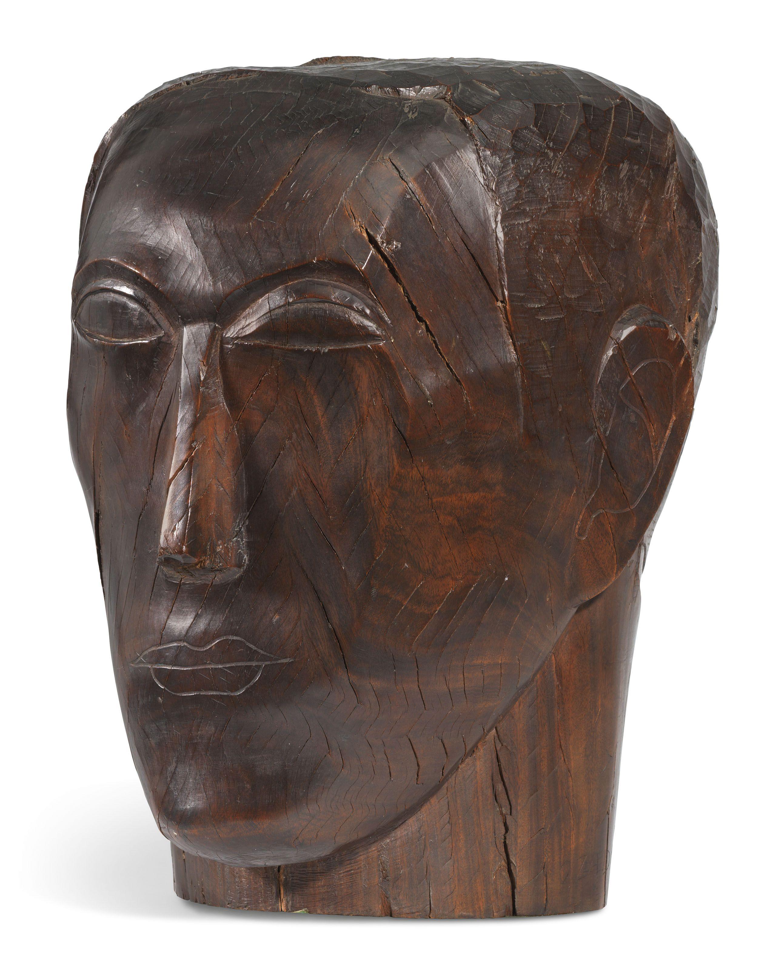 Ossip Zadkine 1890 1967 Tete D Homme 1920s Sculptures