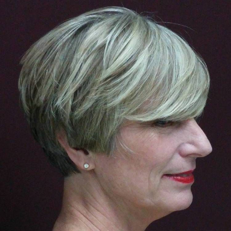 20 wonderful wedge haircuts short gray hairstyles grey hairstyle short gray hairstyle for mature women winobraniefo Image collections