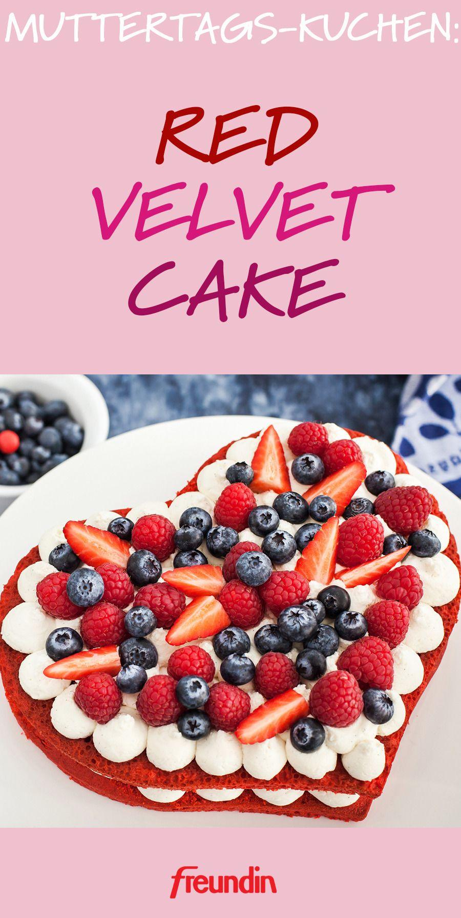 Muttertags-Kuchen: Red Velvet Cake | freundin.de