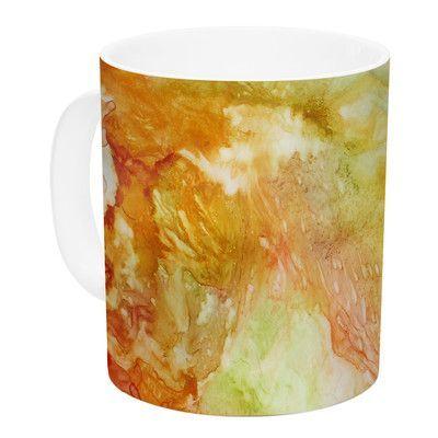 East Urban Home Autumn Breeze by Rosie 11 oz. Ceramic Coffee Mug