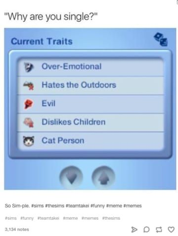 18 Hilarious Tumblr Posts Only The Sims Fans Will Get Sims