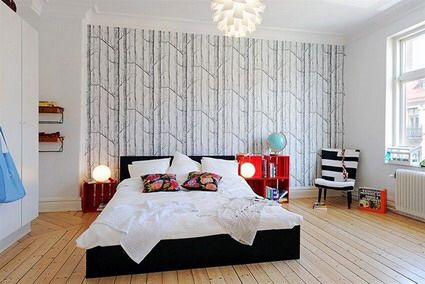 Image from http://prifx.net/wp-content/uploads/2012/12/White-Wall-Colors-Decoration-and-Dark-Wood-Beds-Furniture-in-Small-Modern-Bedroom-Interior-Decorating-Designs-Ideas.jpg.