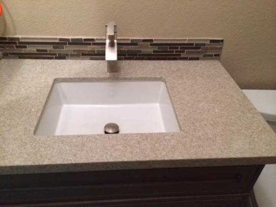 Gentil KOHLER Verticyl Undermount Bathroom Sink In White K 2882 0 At The Home  Depot   Mobile