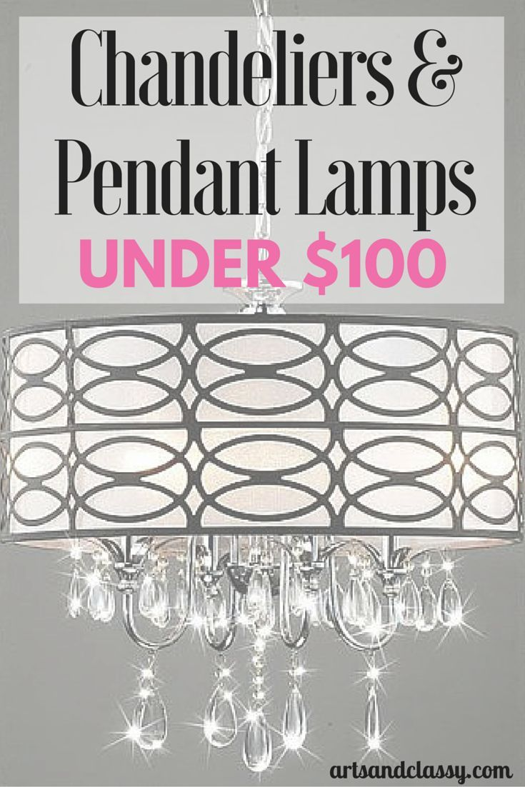 Chandelier And Pendant Lamps For Under 100 Diy Home Decor On A