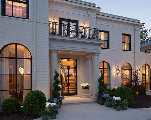 stunning french country luxury homes. Light brick French Country style  I think i love this house