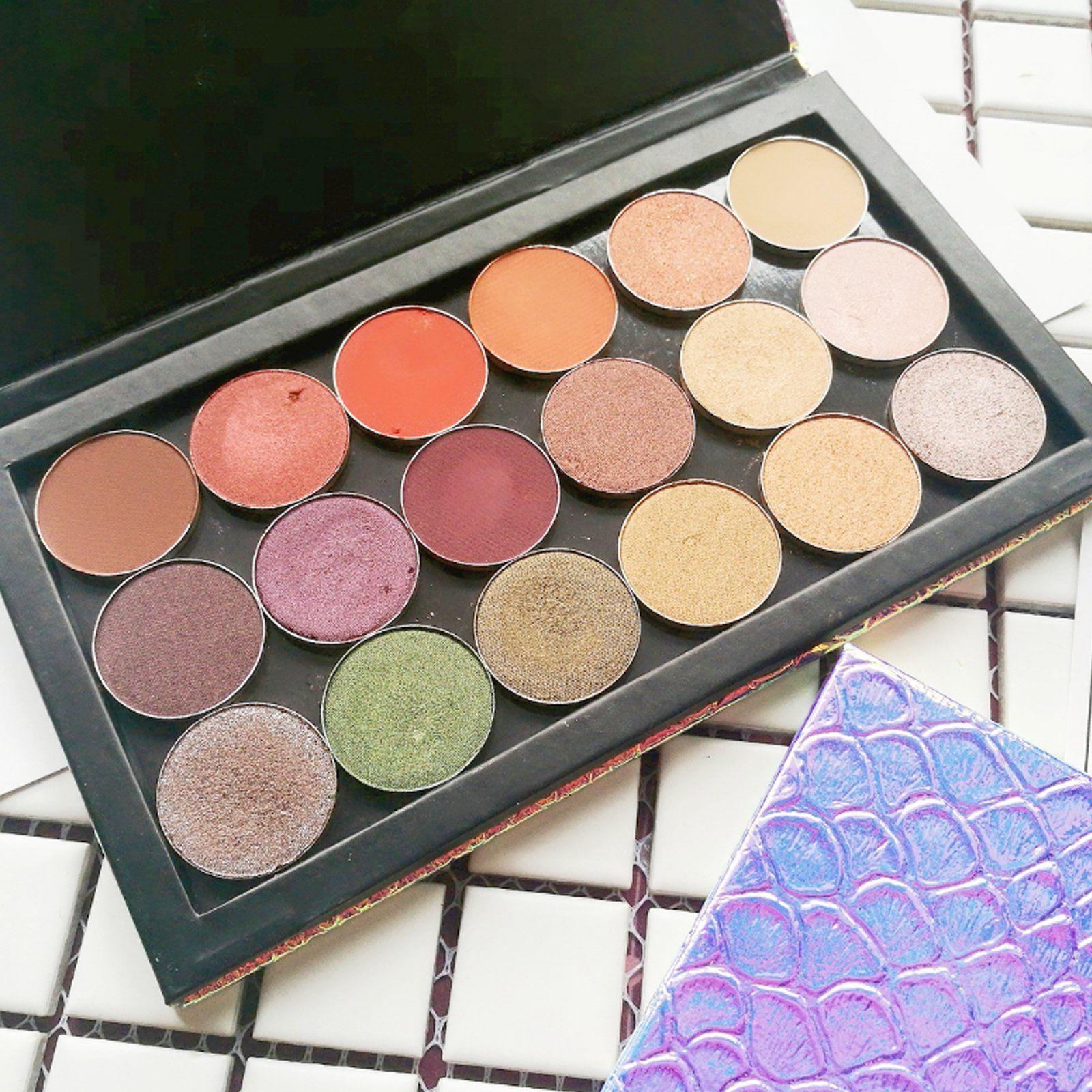 Large Empty Eyeshadow Makeup Box Cosmetics