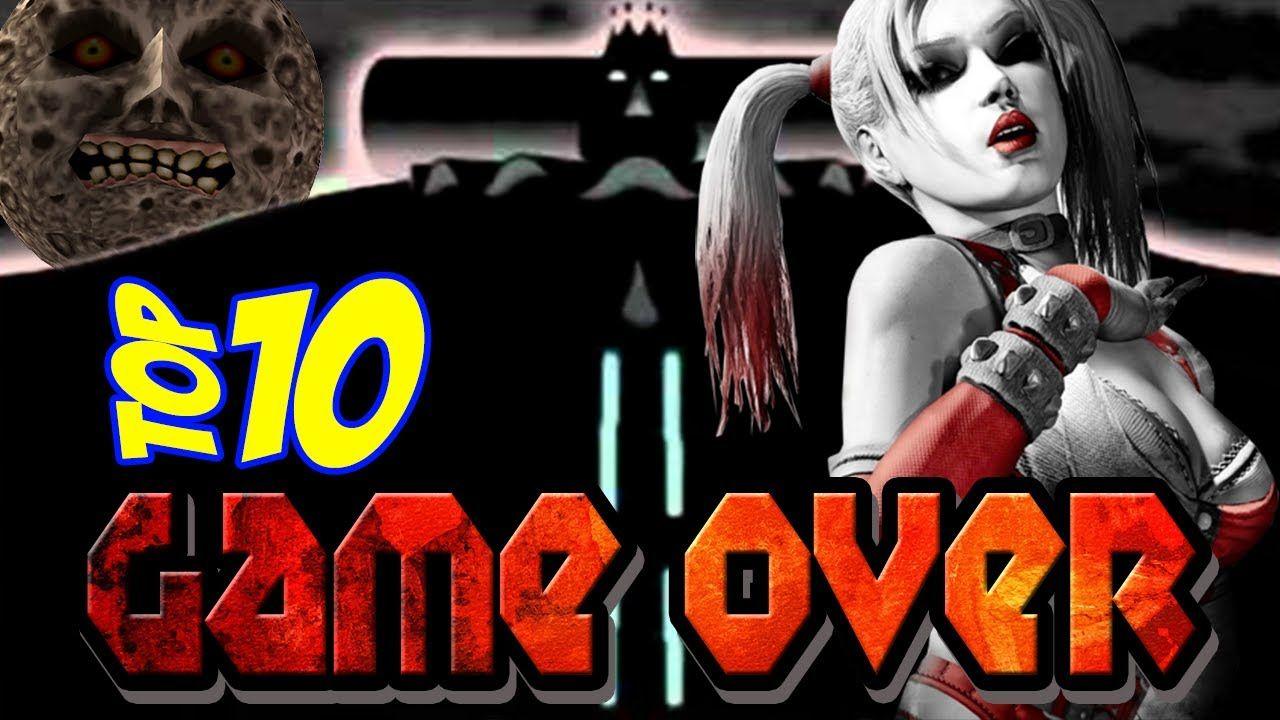 Top10 - Os Melhores Game Over da História!