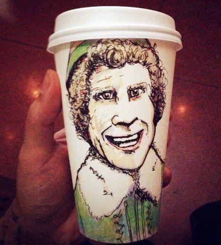 gobelet à café illustré coffeecupart07