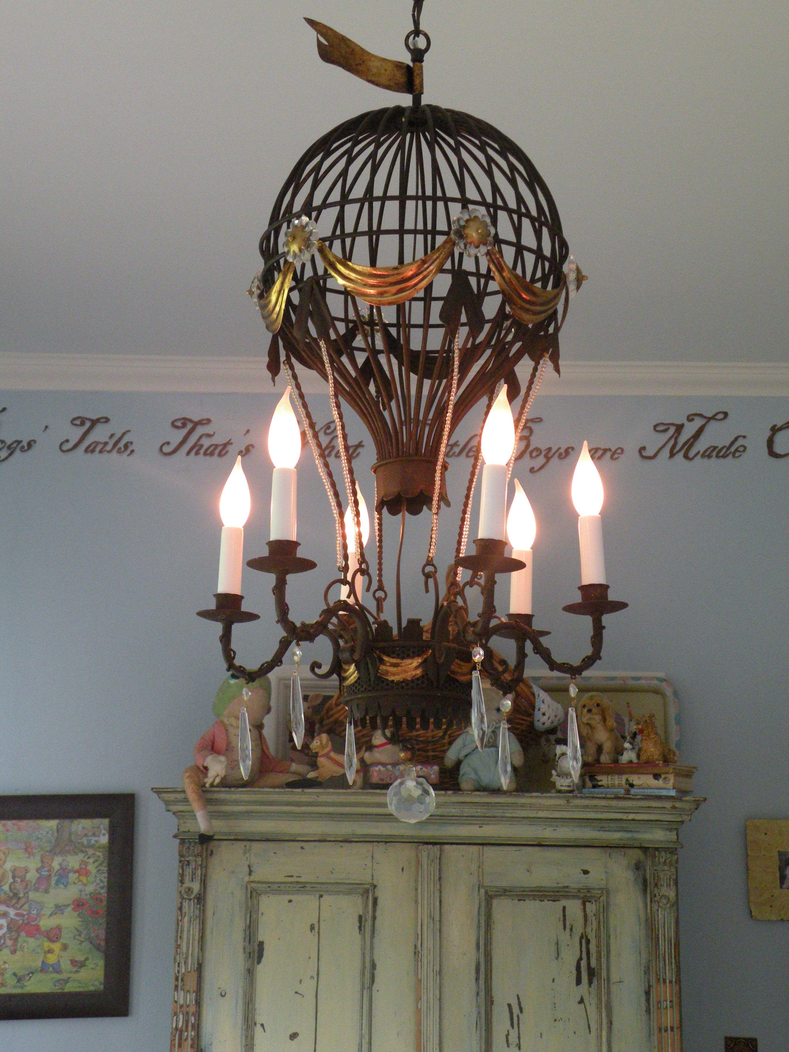 mid hot century chandelier chairish product air balloon