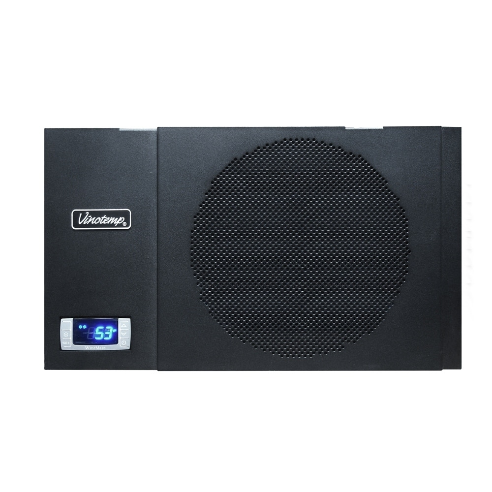 Wine Mate 1500htd Self Contained Cellar Cooling System Black In