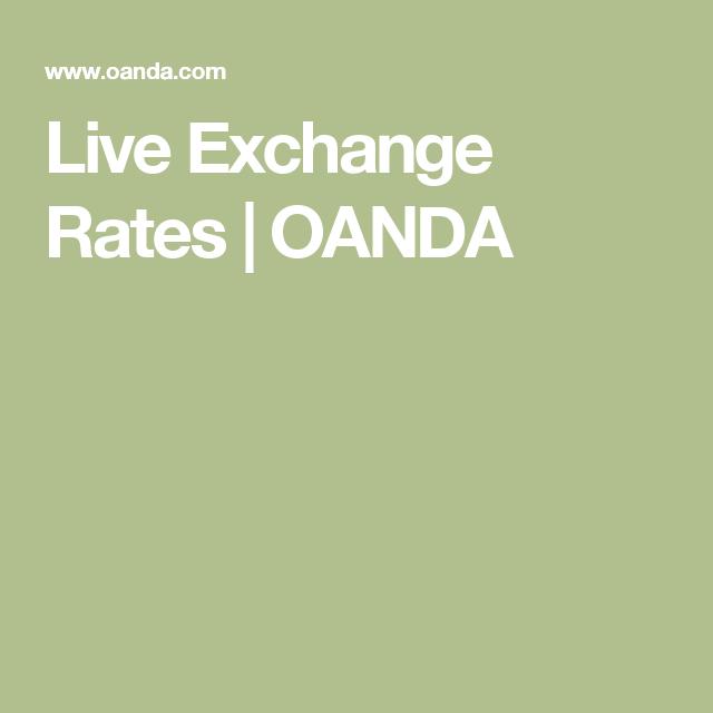 Live Exchange Rates Oanda Tasa De Cambio Plataforma Solapa Del Libro En