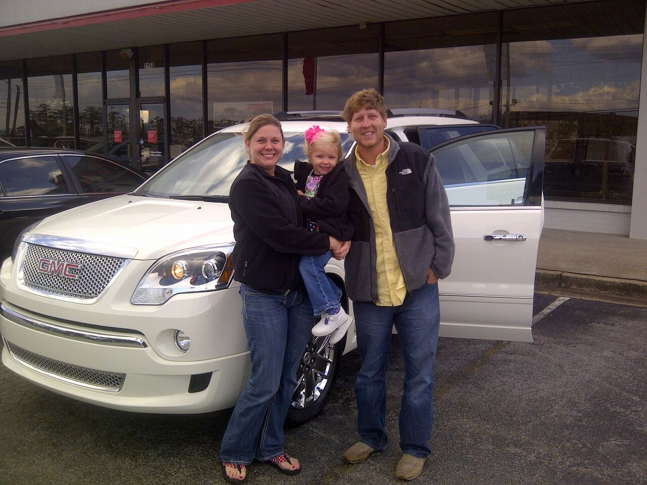 Brock Jones And Family 2011 Gmc Acadia Denali 2011 Gmc Acadia