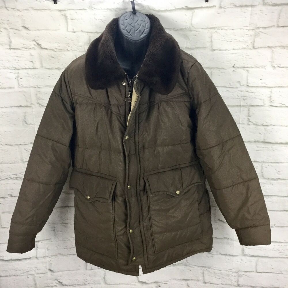 Vintage Walls 7868 Men L Blizzard Pruf Insulated Usa Puffer