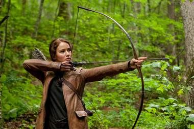 Yup. there's a Hunger Games workout routine.