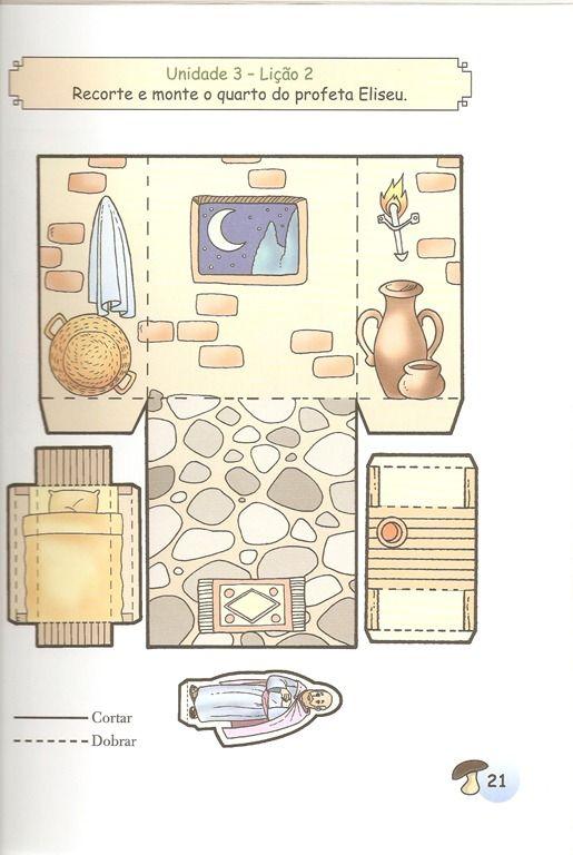 bibelhaus haus zur zeit jesu reli hist rias b blicas infantil artesanato da escola. Black Bedroom Furniture Sets. Home Design Ideas