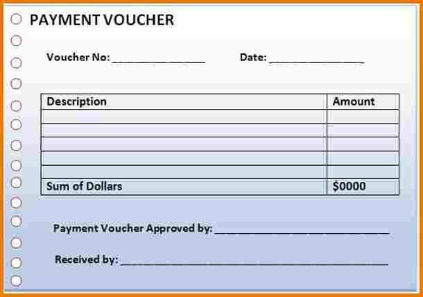Payment Voucher Template Real Estate Brokerage Bill Receipt Format