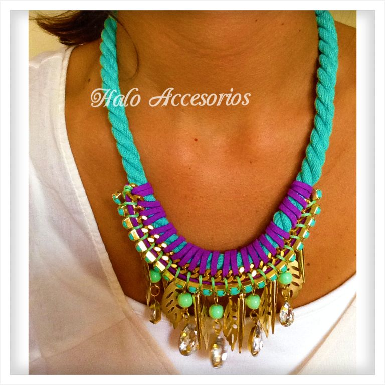 Collar Macedonia   www.haloaccesorios.com