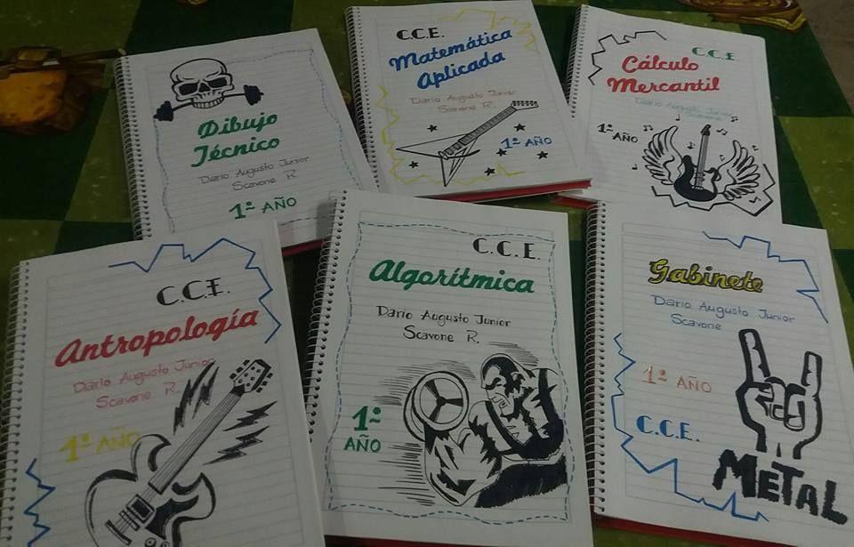 Caratulas para cuadernos de la web Carátulas para