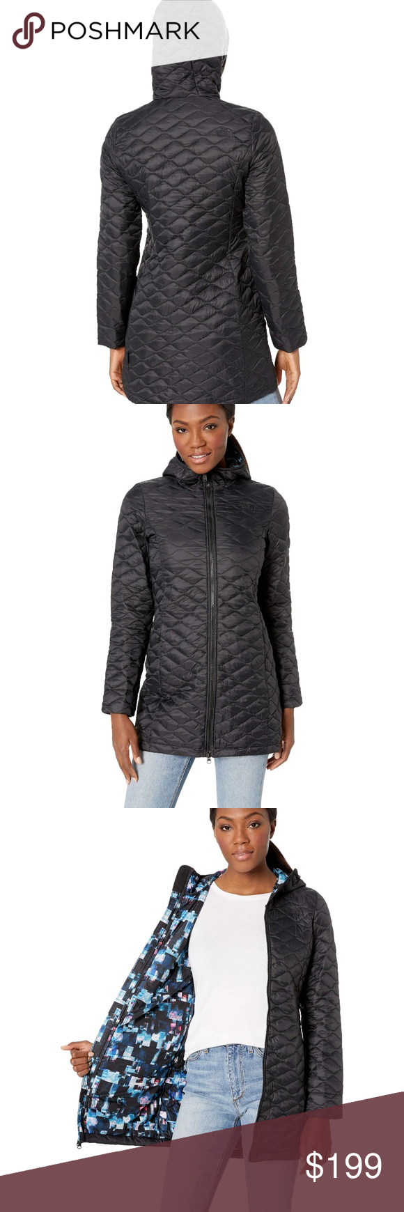 The North Face Women's Thermoball Hooded Parka COLOR: TNF