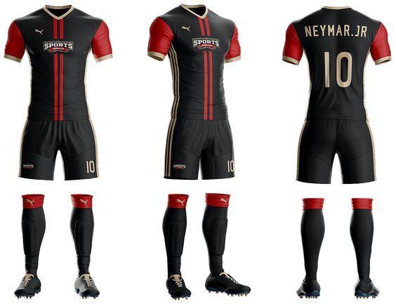Download Goal Soccer Kit Jersey Uniform Template Psd Soccer Uniforms Design Soccer Kits Soccer Uniforms