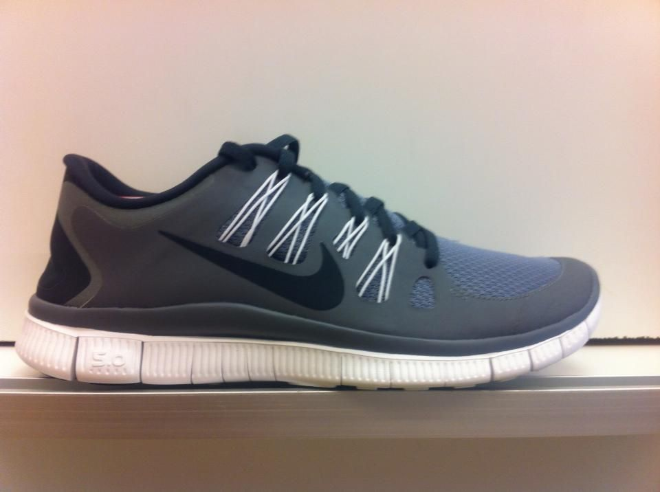 Nike Free Run 3 Blanc / Noir / Sol Gris