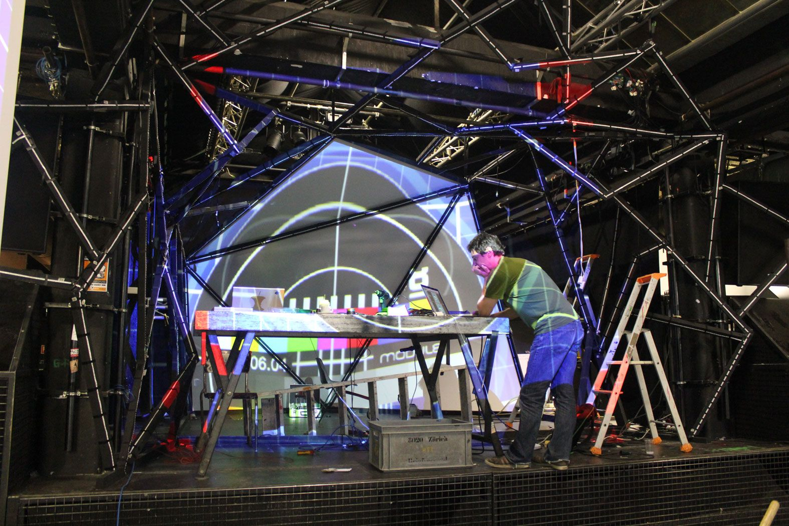Geometric Stage Google Search Stage Design Led Strip