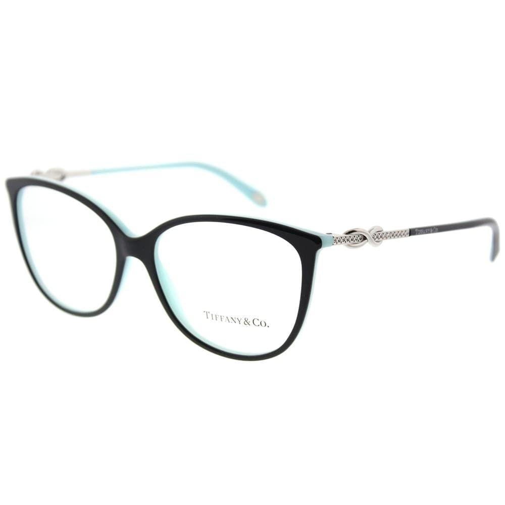 ed593756ff8 Tiffany   Co. Oval TF 2143B 8055 Womens Black on Blue Frame Eyeglasses